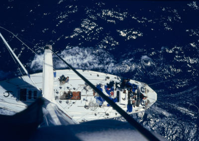 """1985-86 Whitbread Round the World Race amb el """"Fortuna Ligths"""""""