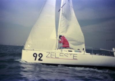 """1987 Mini Transat amb el """"Zeleste"""""""